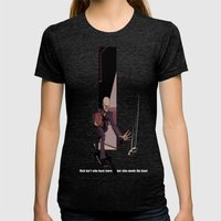Exit Womens Fitted Tee Tri-Black SMALL