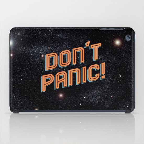 Don't Panic iPad Case