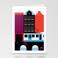 Postcards from Amsterdam / Tram Stationery Cards