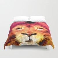 BIG CAT LION Duvet Cover