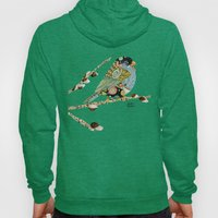 Cafe Swirly Bird 4 Hoody