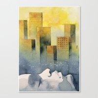 Goodmorning Manhattan Canvas Print