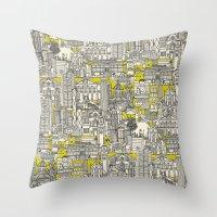 Hong Kong Toile De Jouy … Throw Pillow