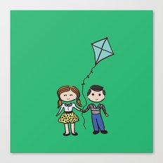 Fly a Kite Canvas Print