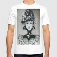 Chastity Mens Fitted Tee White SMALL