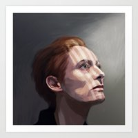 Tilda Swinton Art Print