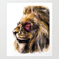 LionO Art Print