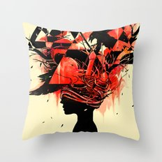 Mindless Throw Pillow