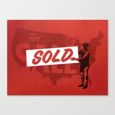 Sold Canvas Print