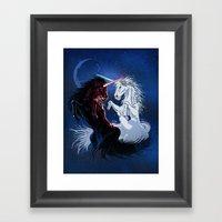 Unicorn Wars Framed Art Print