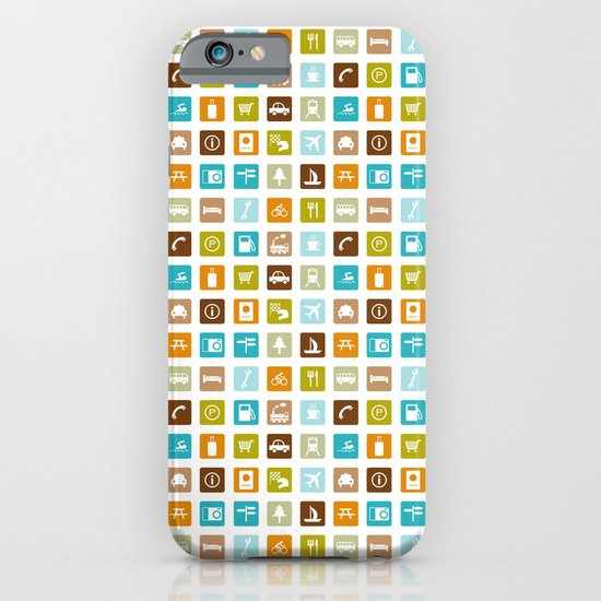 Travel Icons iPhone & iPod Case