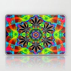Psychedelic Eye Marijuana Leaf Mandala Laptop & iPad Skin