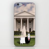 President O'Llama At The… iPhone & iPod Skin