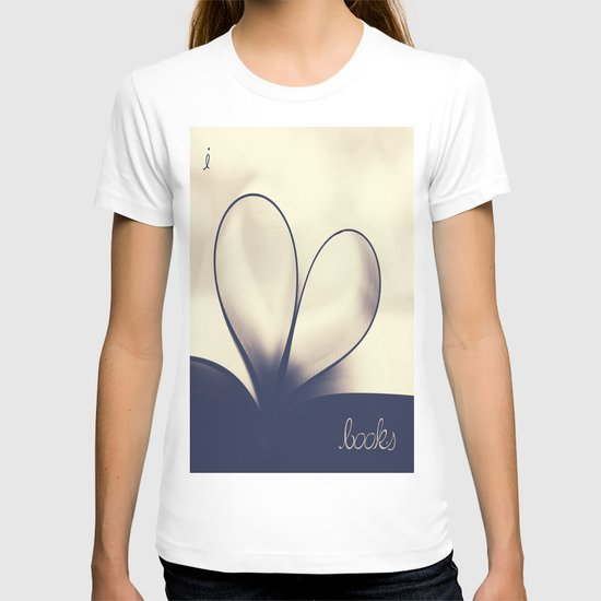 I Heart Books T-shirt