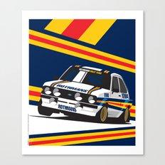 Ford Escort RS2000 Canvas Print