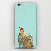 Winged Gorilla iPhone & iPod Skin