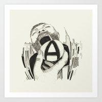 // A    Art Print