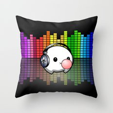 Music Cumi Throw Pillow