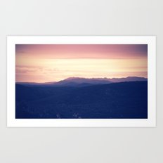 Going to rise up, find my direction magnetically Art Print