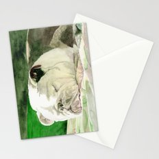Rufus the Bulldog Stationery Cards