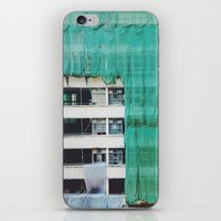 Bamboo Scaffolding Hong Kong iPhone & iPod Skin