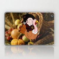 Thanksgiving turkeys Laptop & iPad Skin