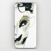 A Faint Smile iPhone & iPod Skin