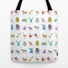 Glitter Animals A Tote Bag