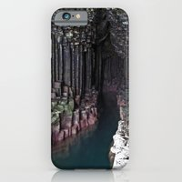 iPhone & iPod Case featuring Fingal's Cave by Steve Watson