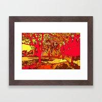 Park1 Framed Art Print