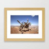 Weathered Framed Art Print