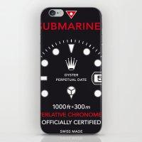 Submariner Chronometer Swiss Watches iPhone & iPod Skin