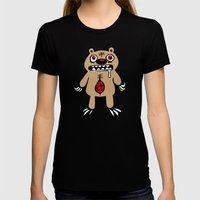 ZOMBEAR Womens Fitted Tee Black SMALL