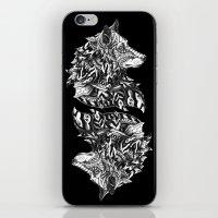 Wolf Profile iPhone & iPod Skin