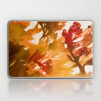 Morning Blossoms 2 - Red… Laptop & iPad Skin