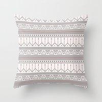 My Heart has a TRIBAL beat Throw Pillow