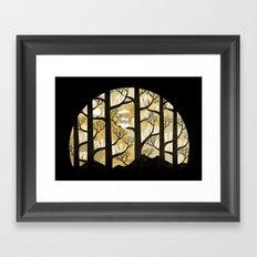Why is an owl smart Framed Art Print