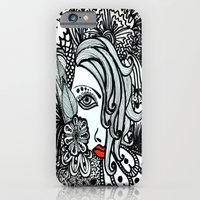 iPhone & iPod Case featuring Girl in Bird by Sumii Haleem
