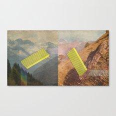 RAIN BOW MOUNTAINS Canvas Print