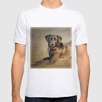 Good Girl Mens Fitted Tee Ash Grey SMALL
