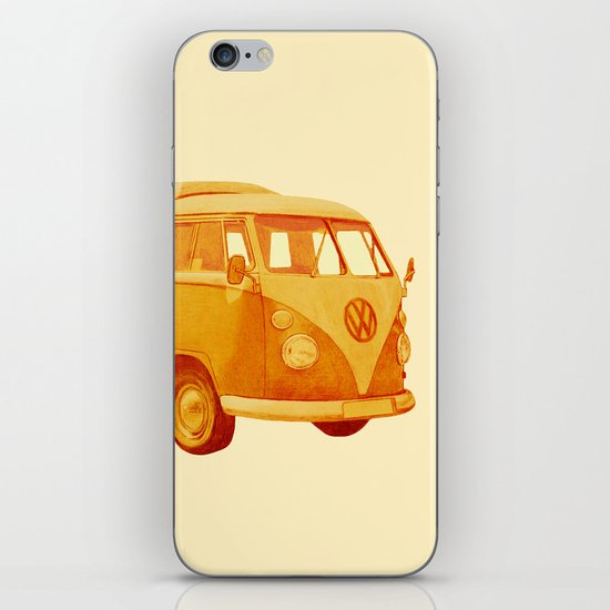 Summer Ride iPhone & iPod Skin
