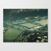 Mini Pittsburgh 2 Canvas Print