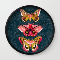 Lepidoptery No. 4 By And… Wall Clock