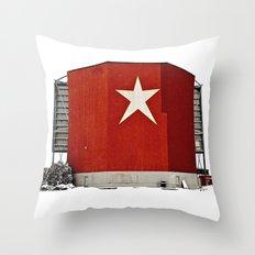 Star-Lite snow Throw Pillow