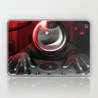 Warning Laptop & iPad Skin