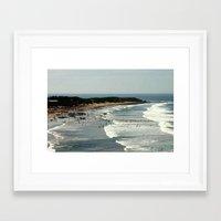 Torquay Heads - Rowing R… Framed Art Print