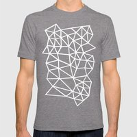 Segment Dense Mens Fitted Tee Tri-Grey SMALL