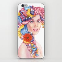 Goddess : Flora iPhone & iPod Skin