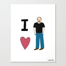 I Love Louie Canvas Print