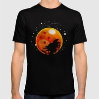 The Moon Child Mens Fitted Tee Black SMALL